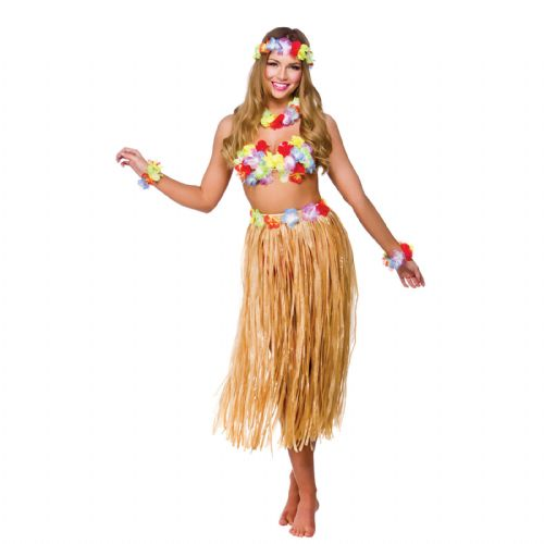 Hawaiian Party Girl - Sexy Fancy Dress (Wicked EF-2146)